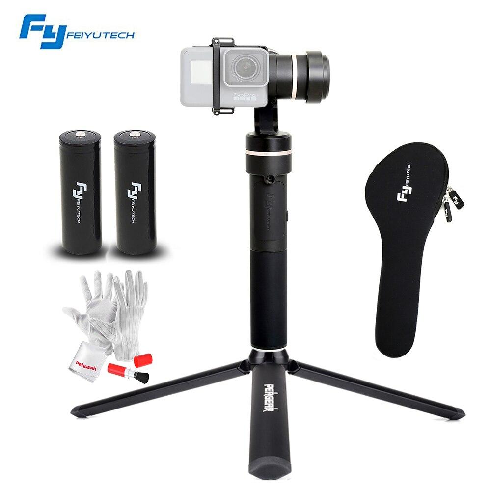 bilder für FeiyuTech Feiyu fy G5 3-achsen Hand Gimbal Splash mit einem Zusätzlichen Batterie für GoPro Hero 5 4 3 3 + yi 4 karat SJ Action Kameras