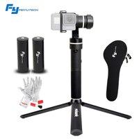 FeiyuTech Feiyu Fy G5 3 Axis Handheld Gimbal Splashproof With An Extra Battery For GoPro Hero