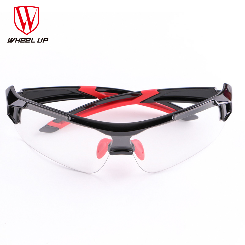 WHEEL UP  Cycling Glasses Discoloration Glasses MTB Road Bike Sport Sunglasses Bike Eyewear Anti-UV Bicycle Goggles polisi brand new designed anti fog cycling glasses sports eyewear polarized glasses bicycle goggles bike sunglasses 5 lenses