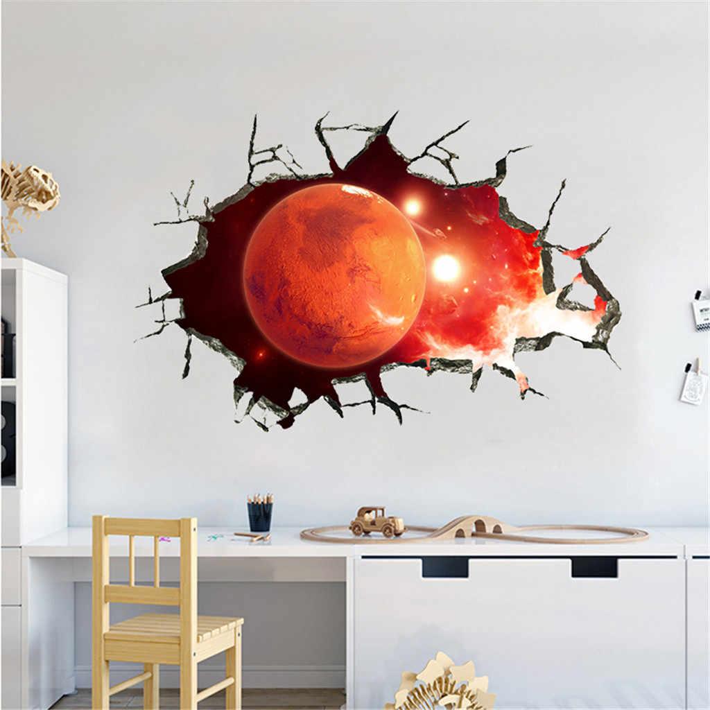 KXAAXS Смешные 40 см X см 60 см 3D Звезда серии пол стены стикеры Съемные Фрески виниловые книги по искусству комнаты декор творческий для стен # y40
