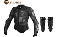 SULAITE Motorcycle Riding Armor Jacket Knee Pads Motocross Off Road Enduro ATV Racing Body Protective Gear
