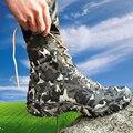 2016 nueva venta de combate con gris hombres de camuflaje botas de asker bot bots impermeables transpirables Hombres Botas Tácticas Militares