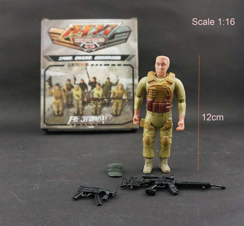 1:16 4D Assemble Solider Model DIY Puzzle Assembly Special Force Soldier Model 1/16 8 Different Action Figure Toys For Boys