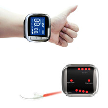 CE 650nm Laser Physiotherapy Diabetic Wrist Watch for Rhinitis Diabetes Hypertension Treatment Sinusitis Therapeutic Apparatus