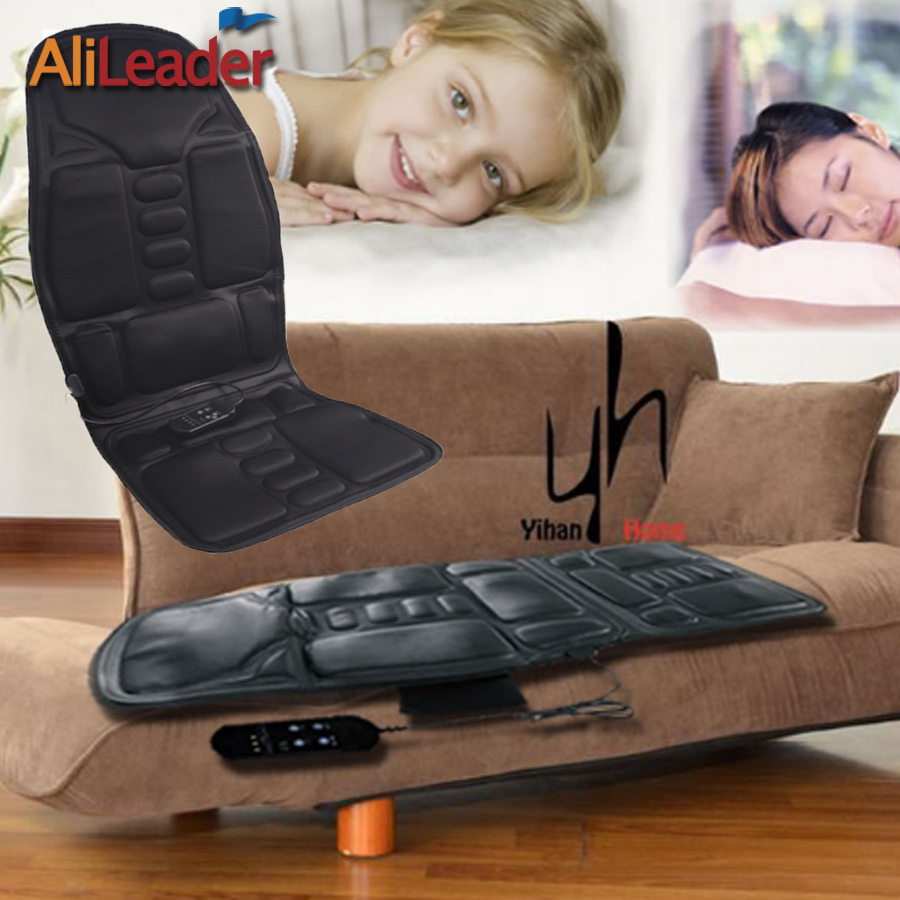 Comfortable Car Home Office Full-Body Massage Neck Back Massager Heat Cushion 8 Mode Electric Far Infrared Health Care Chair massage chair cushion for neck shoulder back waist with far infrared heating and vibration massage heat seat for home car office