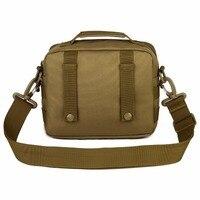 Outdoor Tactical Military Assault Bag Pack MOLLE Small Pockets Man Waterproof Nylon Crossbody Bag