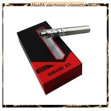 10ชิ้น/ล็อตที่ดีที่สุดSubvod Starter Kitบุหรี่อิเล็กทรอนิกส์ที่มี1300มิลลิแอมป์ชั่วโมงแบตเตอรี่3.2มิลลิลิตรSubtankนาโนฉีดน้ำSSOCCขดลวดSubvodชุด