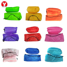Camping Inflatable Lazy Sofa Bed Air Couch Beach Lounger Portable Fast Sleeping Bag