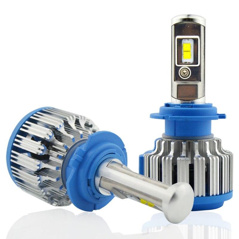LED H1 H3 H4 H7 h8 h9 H11 9005 9006 Kit de faros delanteros - Luces del coche