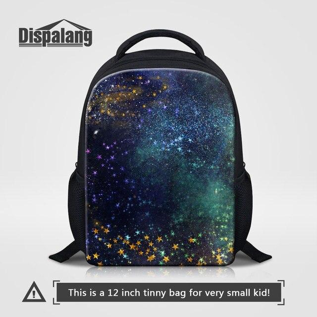 828464deb0e Dispalang Universe E Schoolbags For Children Mini Backpack Stars Printing  Kids Bookbags Galaxy Kindergarten Mochila Rucksack