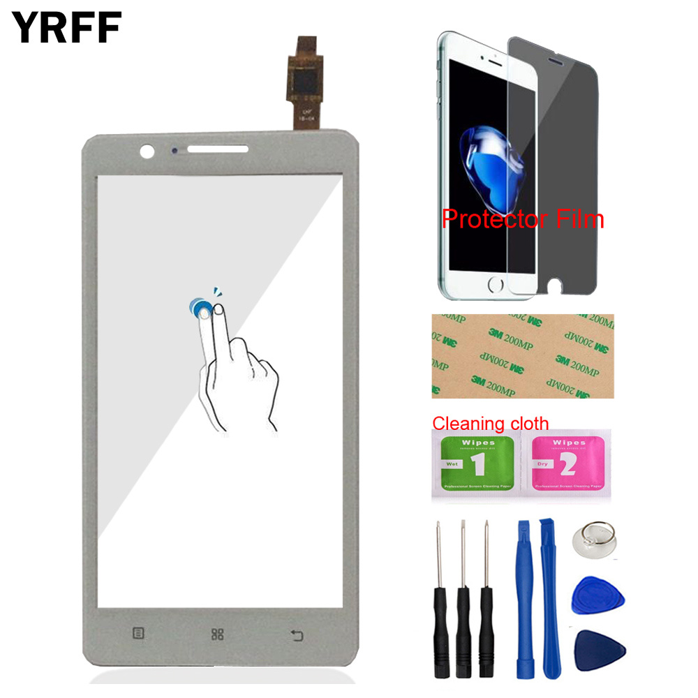 YRFF 5.0inch Phone Front Glass For Lenovo A536 536 Touch Screen Touch Digitizer Panel Glass Tools Free Protector Film AdhesiveYRFF 5.0inch Phone Front Glass For Lenovo A536 536 Touch Screen Touch Digitizer Panel Glass Tools Free Protector Film Adhesive