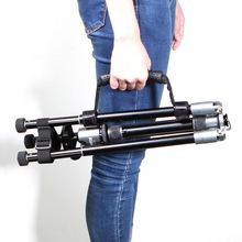Ayarlanabilir evrensel taşıma çantası Velcr kayış kauçuk kolu el kavrama Tripod Fotografia fotoğraf stüdyosu fotoğraf aksesuarları