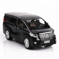 Van MVP Simulation Model of 1:24 Alloy Model Car Back Decoration Model toy