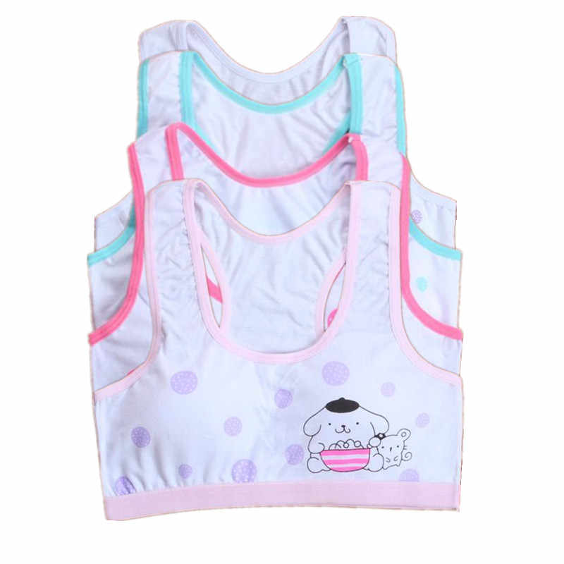 Teenage Girl Training Bra Adolescente Sports Bra Tops For Teens 10-15 Years Cotton Bra For Girls Underwear