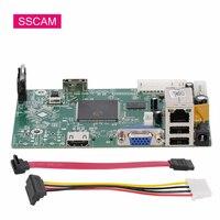 Домашняя система видеонаблюдения сетевой видеорегистратор 4MP NVR 8-канальный модуль цифровой видеорегистратор Onvif PC Board for2MP 4MP IP камера