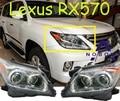 Car-styling, Lexu LX570 faro, 1 unids (de Segunda Mano, tiene Defectos y sucio, 1 unids, libera la nave! I LX570 niebla, LX570 lámpara de cabeza, LX 570
