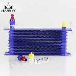 TRUST typ uniwersalny 10 wiersz AN-10AN uniwersalny silnik chłodnica oleju skrzyni biegów z armaturą