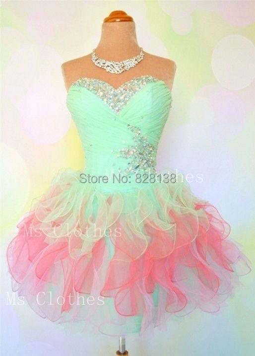 Quinceanera Dresses 2014 Mint Cheap!2014 Cute...