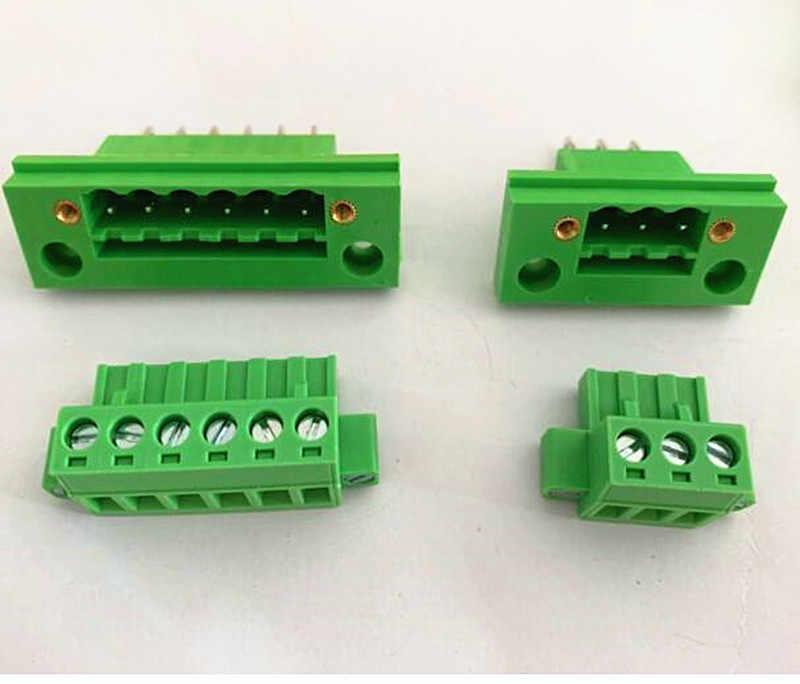 10 пар стеновых терминалов 2EDGWB-5.08-2P-10 P, вставляемый клеммный блок 2P3P4P5P6P7P8P10P