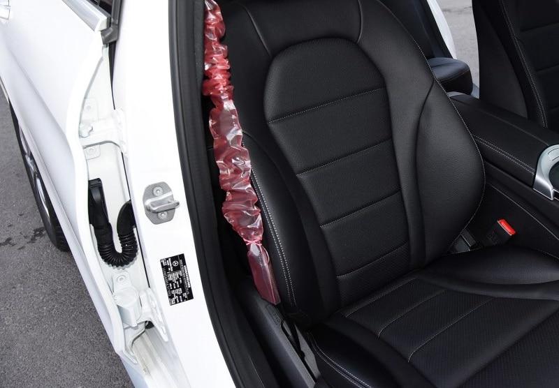 Zamek do drzwi ze stali nierdzewnej klamra ochronna pokrywa dla Mercedes-benz GLE W166 C292 GLS klasa S W221 W222 C217 samochód stylizacji