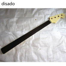 disado 20 Frets Electric Bass Guitar Neck rosewood fretless fingerboard Guitar Parts musical instruments accessories