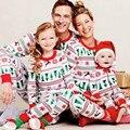 Рождество Дети Детские Мальчики Девочки Рождество Пижамы Пижамы пижамы Пижамы Установить ВЕЛИКОБРИТАНИЯ