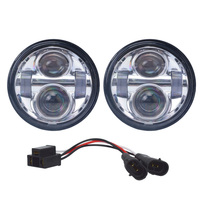 For harley davidson Road Glide dual 5.75 inch Harley Motorcycle Projector Dual LED Headlight