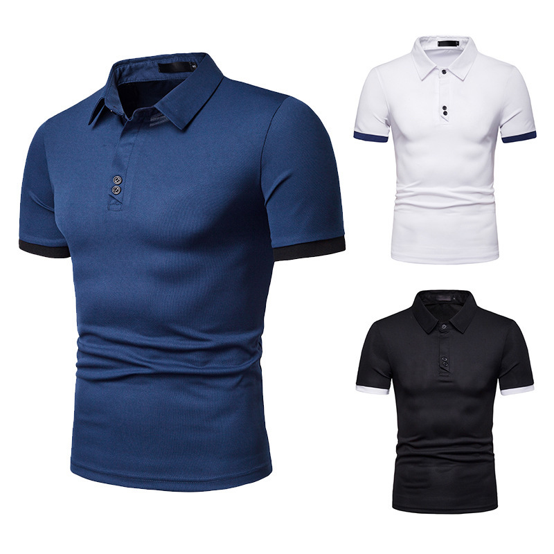 HuLooXuJi Men's Brand   Polo   Shirt High Quality Men Cotton Short Sleeve Shirt Brands Jerseys Summer Mens   Polo   Shirts US Size:S-2XL