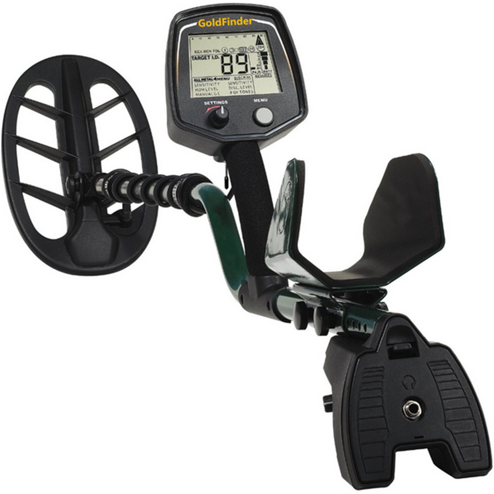 Professional Metal Detector GF2 Underground Metal Detector Gold High Sensitivity and LCD Display Metal Detector Finder+Free Ship professional metal detector md3009ii underground metal detector gold high sensitivity and lcd display md 3009ii metal detector