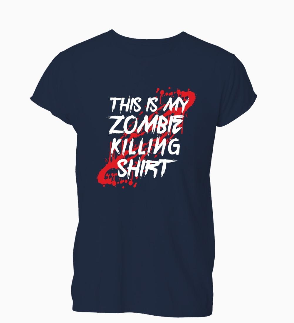 Мужская футболка с круглым вырезом This Is My Zombie Killing, футболка для смешной геймер, футболка для мужчин и женщин, лето 2019