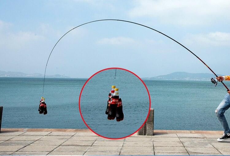 De Pesca para o Mar Grande Peixe Pólo Mão Ultraleve
