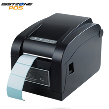 цены IssyzonePOS 3 Inch Direct Thermal Label Printer Warehouse Retail Sticker Printer Support QR Barcode Print With USB Serial Port