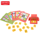 zhorya Nwe High Quality Classic Funny Bingo Games Entertainment Zingo! Gifts kids intelligent card table game