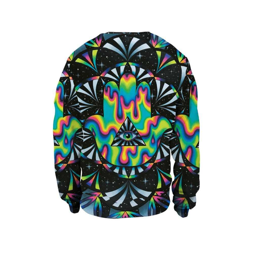 Новинка 2019, 3D принт, круглый вырез, хип-хоп стиль, пуловер для женщин/мужчин, повседневные свитшоты