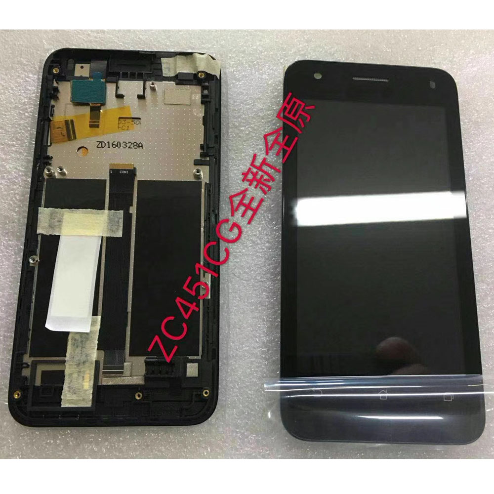 45 Lcd For Asus Zenfone C Zc451cg Z007 Display Digitizer Touch New Zenfone4s Inch Screen Sensor Glass Monitor Assembly With Frame