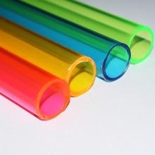 1 шт. OD 23x2 мм цветная плексигласовая трубка/акриловая труба/пластиковая труба/diy модель игрушки аксессуары/части технической модели