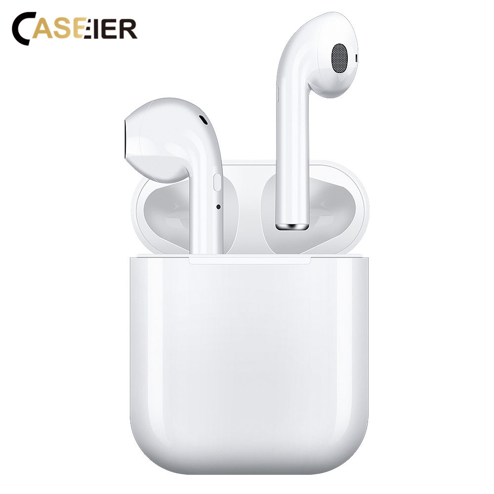 CASEIER New i10 TWS Bluetooth Earphone Bluetooth 5.0 Wireless Earphone Headphone HIFI Call Microphone Suit For all Smartphone