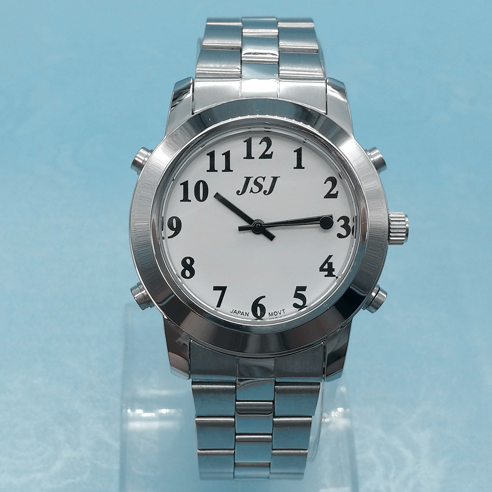 Newly launched Italian Talking Watch for Blind or Low Vison People with Alarm for the Elderly Speaking Quartz