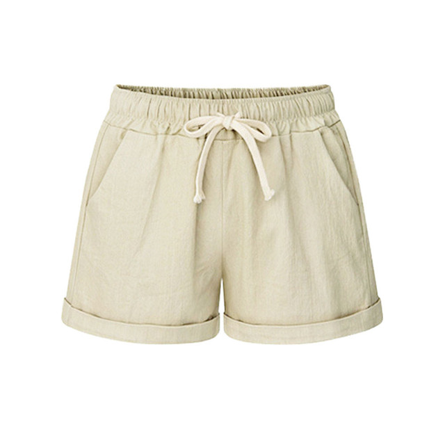 Plus Size Pocket Shorts women Summer 2019 Streetwear Casual Drawstring Running Gym Sports summer shorts Women short feminino 2
