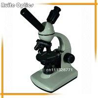 40X-400X Đèn LED Binocular Microscope với Bộ Sạc và Cặp Clips 90 mét Tròn Giai Đoạn của Trường Dạy Phòng Thí Nghiệm