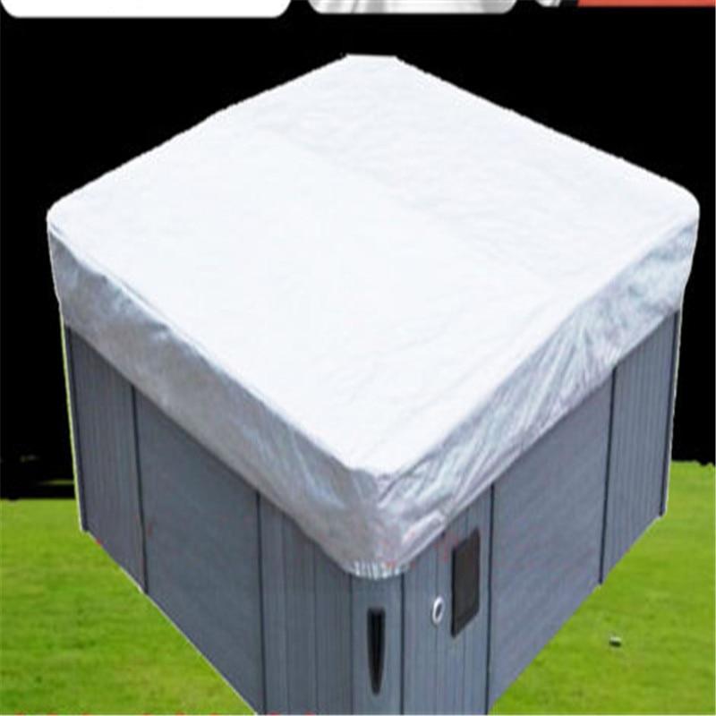 Spa Cubrir Cubierta Weather Guard Universal Tub Cover All-Weather 37 Sizes Spa Cover Cap Cubierta Protector Jacuzzis Hotspring