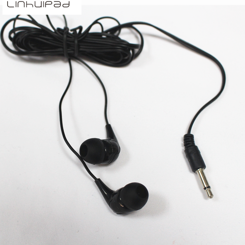 Linhuipad 2017 hot selling in-ear earphone cheap earbud $4.99 for 2pcs including shipping image