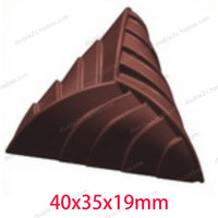Polycarbonate Chocolate Mold 18cups Mold PC Chocolate Mold 1pcs 3D Special DIY Handmade Chocolate Para Chocolate