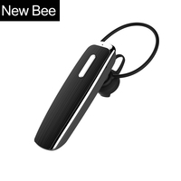 New Bee Hands Free Bluetooth Earphone Stereo Sport Headset Portable Wireless Headphone Earpiece With Microphone For