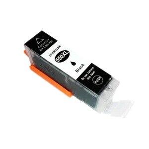Image 2 - PGI550 чернильный картридж pgi550 PGI 550 CLI 551 для Canon PIXMA MG5450 MG5550 MG6350 цветной струйный принтер