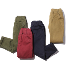 Pioneer Camp kids new Winter Pants For Russia Plus Velvet Thicken Warm Casual Boys Trousers quality straight pants children