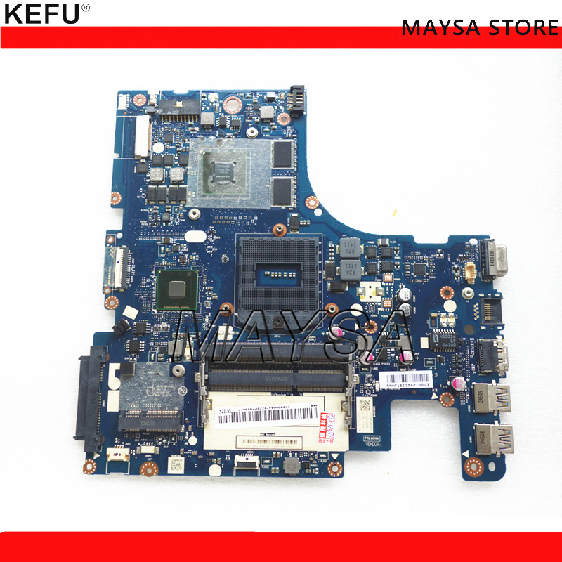 High quality AILZA NM-A181 FOR Lenovo Ideapad Z510 Laptop Motherboard HM86 PGA947 DDR3 GT740M 2GB Fully Tested laptop keyboard for lenovo ideapad z510 z510 touch arabic ar 25213605