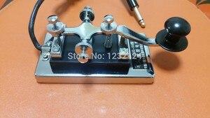 Image 1 - Military Room Escape film requisiten kurzwellen radio CW Morse telegraphen schlüssel K4 K 4 schwere schlüssel