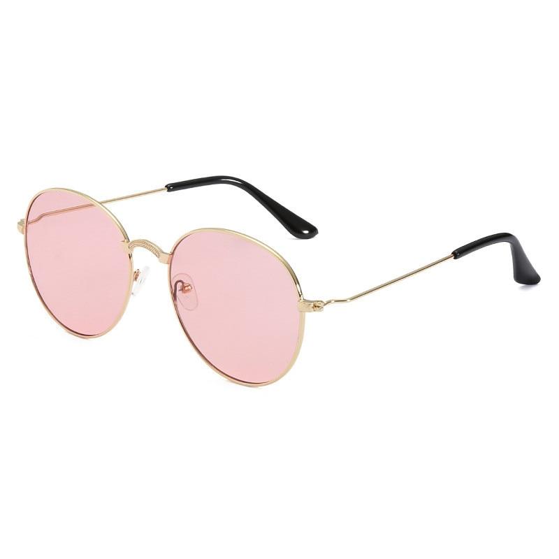 2018 summer new retro round transparent sunglasses men and women personality trend ocean piece sunglasses CC6279