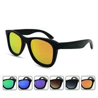 ธรรมชาติผู้ชายผู้หญิงแว่นตาแว่นตากันแดดไม้ไผ่ไม้ย้อนยุคกรอบแว่นกันแดดU NisexออกแบบP Olarizedดวงอ...
